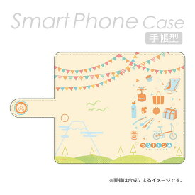 PA-SPC3985 ハクバ 手帳型マルチスマートフォンケース(ゆるキャン△ モチーフ) CHARAMODE(キャラモード)