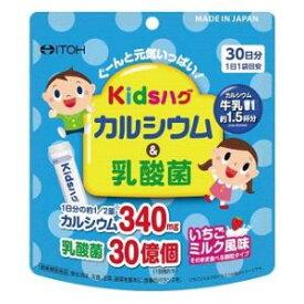 キッズハグ カルシウム&乳酸菌 60g(2g×30袋) 井藤漢方製薬 キツズハグカルシウム&ニユウサンキン