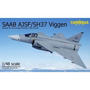 1/48 サーブ AJSF/SH37 ビゲン「緊急対応部隊」【TGSTA4808】 タラングス