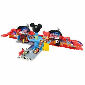 ミッキーマウスとロードレーサーズ トミカ ひろげてあそぼう! ミッキー ガレージ タカラトミー 【Disneyzone】