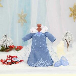 レミン&ソラン エルサ ドレスセット =アナと雪の女王 家族の思い出= バンダイ 【Disneyzone】
