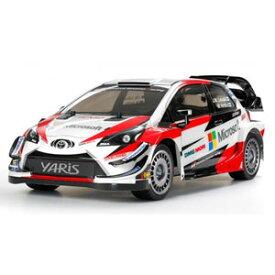 1/10 電動RC組立キット トヨタ ガズーレーシング WRT/ヤリス WRC (TT-02シャーシ)【58659】 タミヤ