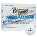 RG MEGADISTA WH 12P ブリヂストンゴルフ ゴルフボール レイグランデMEGADISTA 1ダース 12個入り(ホワイト) BRIDGESTONE