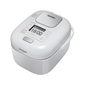 SR-JW058-W パナソニック 可変圧力IHジャー炊飯器(3合炊き) 豊穣ホワイト Panasonic Wおどり炊き