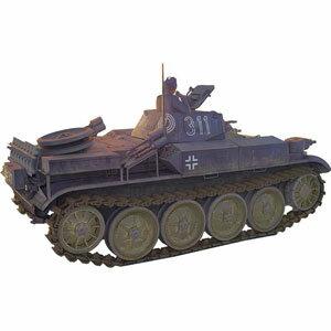 1/35 独・II号E型火炎放射戦車フラミンゴ・湿式履帯【CB35124】 ブロンコ