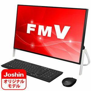 FMVF70C2BZ 富士通 23.8型 デスクトップパソコン 【Joshin オリジナル】FMV ESPRIMO FH70/C2 ブラック (Core i7/メモリ 8GB/HDD 1TB/Office H&B 2016)