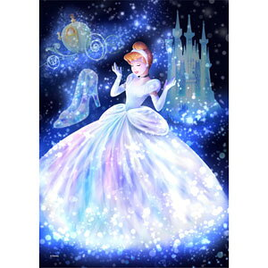 ディズニー ステンドアート トゥインクルシャワーコレクション 魔法の光に包まれて(シンデレラ) ぎゅっと266ピース ジグソーパズル テンヨー 【Disneyzone】