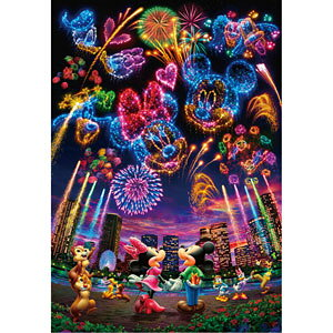 ディズニー 花火に想いをのせて… 1000ピース ジグソーパズル テンヨー 【Disneyzone】