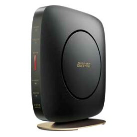 WSR-2533DHP2-CB バッファロー 11ac対応 1733+800Mbps 無線LANルータ(クールブラック)(親機単体)