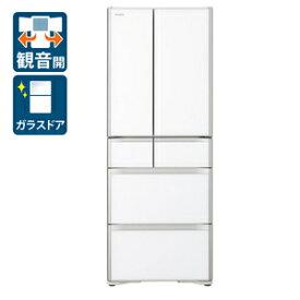 (標準設置料込)R-XG51J-XW 日立 505L 6ドア冷蔵庫(クリスタルホワイト) HITACHI