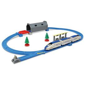 プラレール トンネルを照らそう! ライト付 E7系 新幹線 かがやきベーシックセット タカラトミー