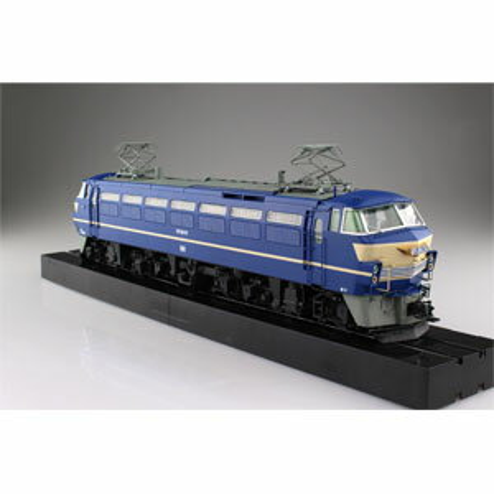 1/45 トレインミュージアムOJ No.4 電気機関車 EF66 後期型 【54079】(ディスプレイモデル) アオシマ