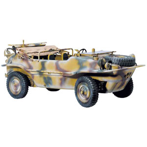 1/6 WW.II ドイツ軍 水陸両用車両 シュビムワーゲン【DR75013R】 ドラゴンモデル