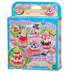 AQ-282 アクアビーズ ケーキ&カフェスイーツセット エポック社