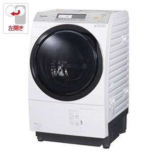 (標準設置料込)NA-VX7900L-W パナソニック 10.0kg ドラム式洗濯乾燥機【左開き】クリスタルホワイト Panasonic 泡洗浄W