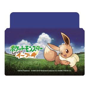 【Nintendo Switch】Nintendo Switch専用スタンド付きカバー ポケットモンスターLet's Go!イーブイ マックスゲームズ [HACH-01EE]