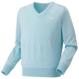 YO 32014 027 S ヨネックス セーター ユニセックス(サックス・サイズ:S) YONEX テニス・バドミントン ウェア(メンズ/ユニ)