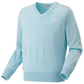 YO 32014 027 M ヨネックス セーター ユニセックス(サックス・サイズ:M) YONEX テニス・バドミントン ウェア(メンズ/ユニ)