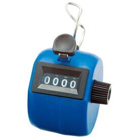 75090 シンワ測定 数取器 C プラスチック製 手持型 ブルー