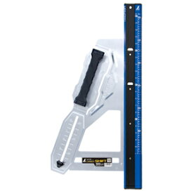 79053 シンワ測定 丸ノコガイド定規 エルアングル Plus シフト 60cm寸勾配切断機能付
