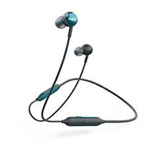 AKGY100BTGRN AKG Bluetooth対応ダイナミック密閉型カナルイヤホン(グリーン) AKG Y100 WIRELESS