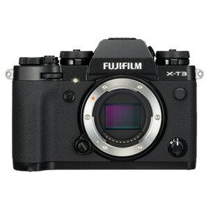 FX-T3-B 富士フイルム ミラーレス一眼カメラ「FUJIFILM X-T3」ボディ(ブラック)