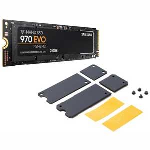 MZ-V7E250B/HS サムスン Samsung SSD 970EVO M.2シリーズ 250GB【ヒートシンク付きモデル】