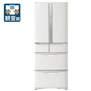(標準設置料込)R-F51M3-W 日立 505L 6ドア冷蔵庫(パールホワイト) HITACHI