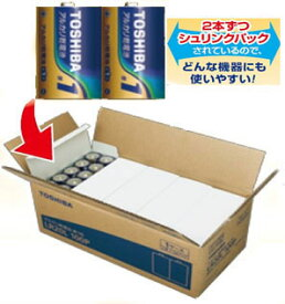 LR20L-100P 東芝 アルカリ乾電池単1形 100本パック TOSHIBA