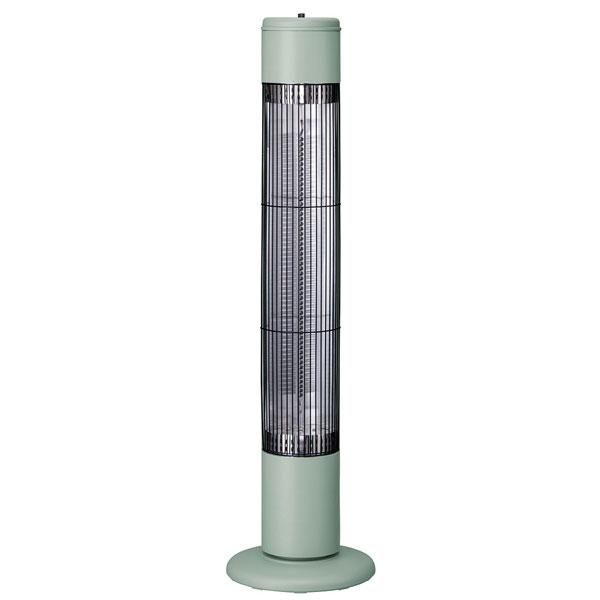 CB-T1831GN スリーアップ 電気ストーブ【カーボンヒーター】(レトログリーン) 【暖房器具】Three-up NOPPO(ノッポ)