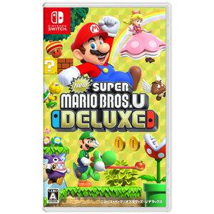 【Nintendo Switch】NEW スーパーマリオブラザーズ U デラックス 任天堂 [HAC-P-ADALA NSW ニュースーパーマリオブラザーズDX]