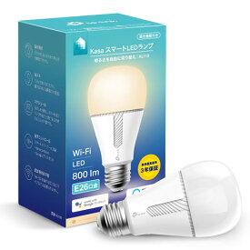 KL110 TP-Link LED電球 一般電球形 800lm(電球色相当) TPLINK Kasa スマートLEDランプ 調光タイプ [KL110]