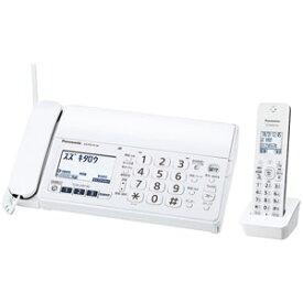 KX-PZ210DL-W パナソニック デジタルコードレス普通紙FAX(子機1台付き) ホワイト Panasonic おたっくす [KXPZ210DLW]