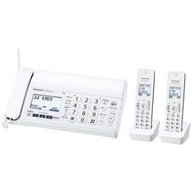 KX-PZ210DW-W パナソニック デジタルコードレス普通紙FAX(子機2台付き) ホワイト Panasonic おたっくす [KXPZ210DWW]