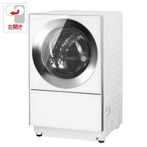 (標準設置料込)NA-VG1300L-S パナソニック 10.0kg ドラム式洗濯機【左開き】シルバーステンレス Panasonic Cuble(キューブル)