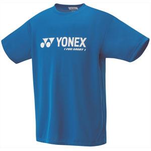 YONEX 16201 506 XO ヨネックス ベリークールTシャツ ユニセックス(インフィニットブルー・サイズ:XO) YONEX テニス・バドミントン ウェア(メンズ/ユニ)