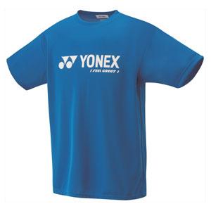 YO 16201J 506 J130 ヨネックス ベリークールTシャツ ジュニア(インフィニットブルー・サイズ:J130) YONEX テニス・バドミントン ウェア(ジュニア)