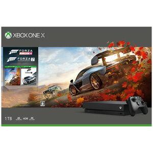【500円クーポン10/20 23:59迄】Xbox One X (Forza Horizon 4/Forza Motorsport 7 同梱版) マイクロソフト [CYV-00062 XboxOneX FH4 FM7 ドウコンバン]