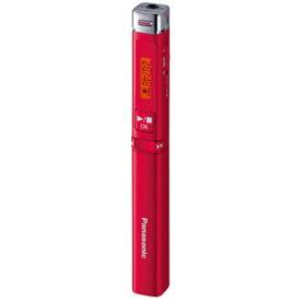 RR-XP009-R パナソニック リニアPCM対応ICレコーダー8GBメモリ内蔵(レッド) Panasonic