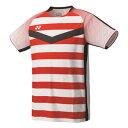YO 10274 011 O ヨネックス テニス・バドミントン ウェア(メンズ)(ホワイト・サイズ:O) YONEX メンズゲームシャツ