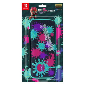 【Switch】スプラトゥーン2 ハードポーチ for Nintendo Switch インク×タコ ホリ [NSW-126インクタコ]