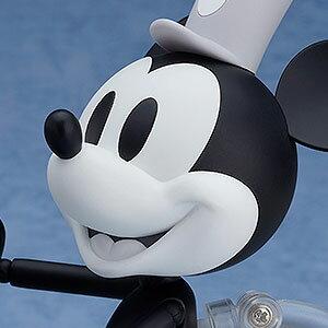 ねんどろいど ミッキーマウス 1928 Ver. シロクロ(蒸気船ウィリー) グッドスマイルカンパニー 【Disneyzone】