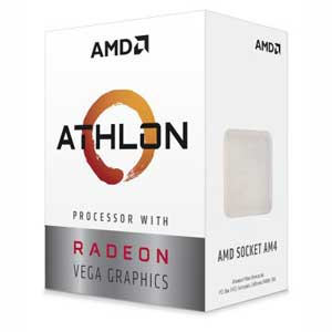 YD200GC6FBBOX AMD AMD CPU 200GE Radeon Vega 3 Graphics BOX(Athlon)