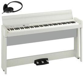 C1-AIR-WH コルグ 電子ピアノ(ホワイト)【ヘッドホン付き】 KORG C1 Air C1AIR