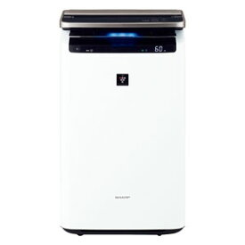 KI-JP100-W シャープ 空気清浄機【加湿機能付】(空清46畳まで/加湿26畳まで ホワイト系) SHARP 「プラズマクラスターNEXT」搭載