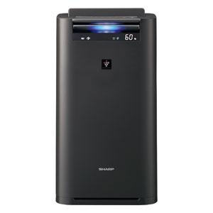 KI-JS50-H シャープ 空気清浄機【加湿機能付】(空清23まで/加湿15畳まで グレー系) SHARP 「プラズマクラスター25000」搭載