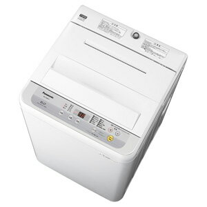 (標準設置料込)NA-F60B12-S パナソニック 6.0kg 全自動洗濯機 シルバー Panasonic