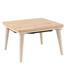 KTR-3081FW コイズミ 家具調コタツ(60×60cm) 【暖房器具】KOIZUMI