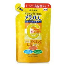 メラノCC 薬用しみ対策美白化粧水 しっとりタイプ つめかえ用 170ml ロート製薬 メラノCCシミビハクLシツトリ カエ