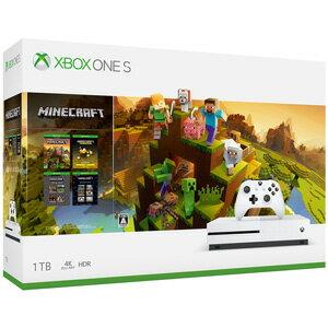 Xbox One S 1TB Minecraft マスター コレクション同梱版 マイクロソフト [234-00670 XboxOneS マインクラフトMCドウコン]